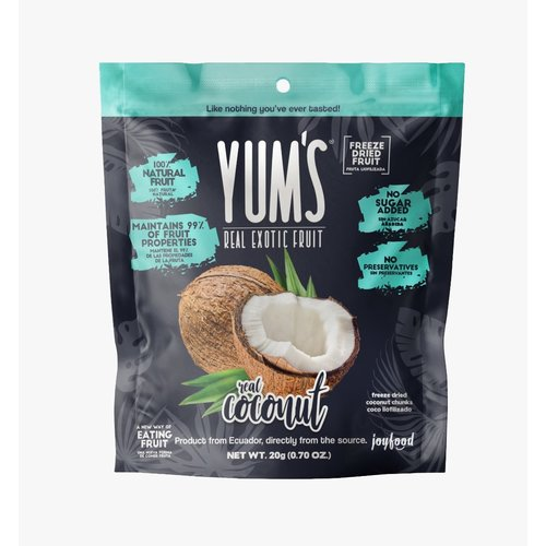 Yum's Crunchy COCONUT Bites, 20g