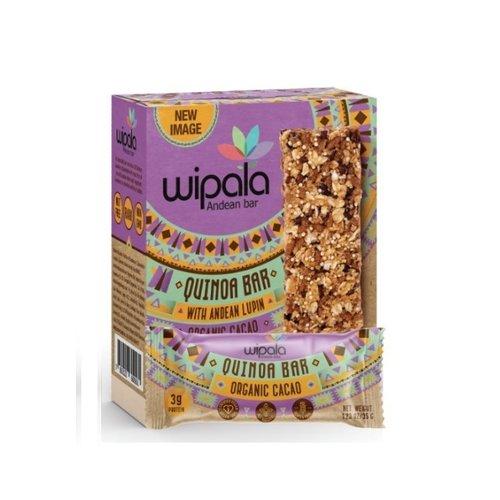 Wipala Quinoa Bar Cacao, 6x35g