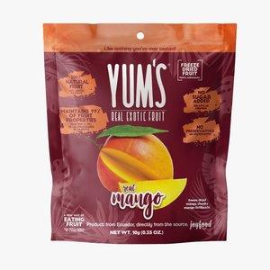 Yum's Crunchy MANGO Bites, 10g