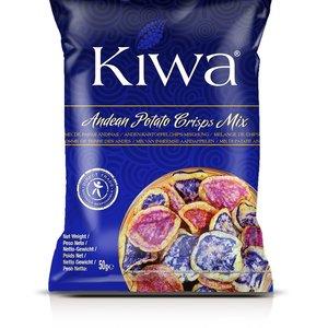 KIWA Andean Potato Crisps Mix, 50g THT 9-7-21