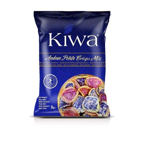 KIWA Andean Potato Crisps Mix, 50g