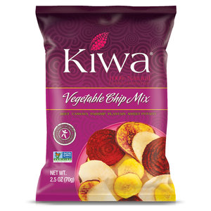 KIWA Vegetable Crisps Mix, 70g THT 9-7-21
