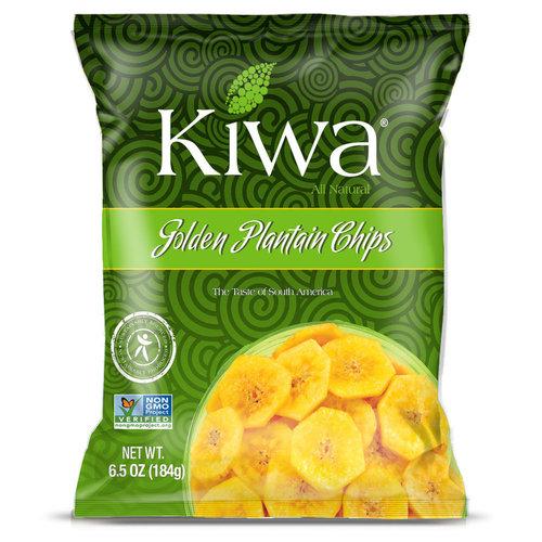 KIWA Golden Plantain Chips, 184g