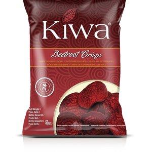 KIWA Beetroot Crisps, 50g BBD 9-7-21