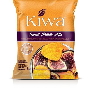 KIWA Sweet Potato Mix Crisps, 50g