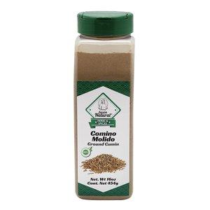 Sazon Natural Comino Molido, 454g