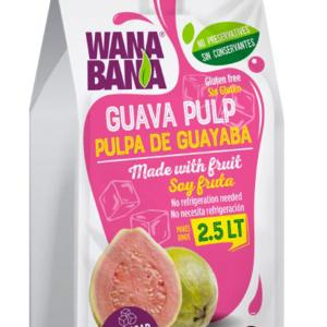 Wanabana Guava Pulp, 500g