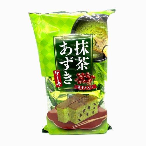 Tenkei Matcha Adzuki Bean Cake, 125g