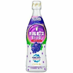 Asahi Calpis Grape Syrup Concentrate, 470ml