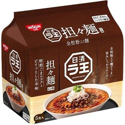 Nissin Raoh Premium Instant Ramen Tan Tan, 5x102g