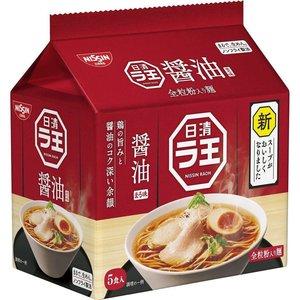 Nissin Raoh Premium Instant Ramen Shoyu Flavor, 5x102g