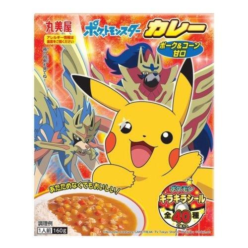 Marumiya Pokemon Instant Curry Pork & Corn, 160g