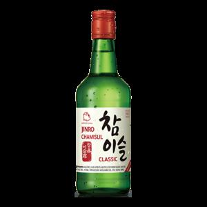 Jinro Chamisul Classic Soju, 350ml