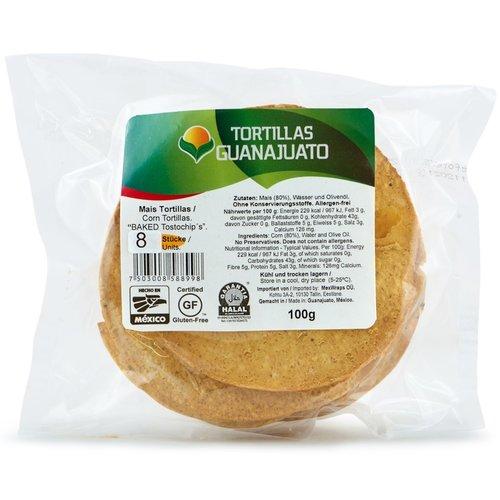 Guanajuato Tortillas Baked Tostada, 100g