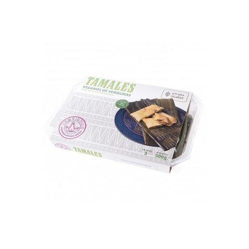 La Reina de las Tortillas Tamales Veganos de Verduras, 315 g