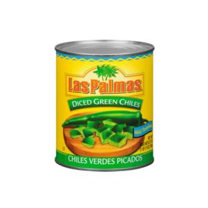 Las Palmas Diced Green Chiles, 765g