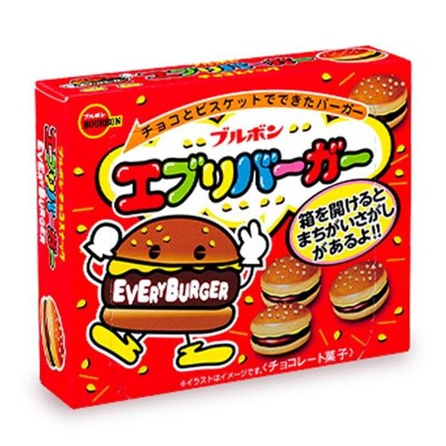 Bourbon Every Burger Snack, 110g