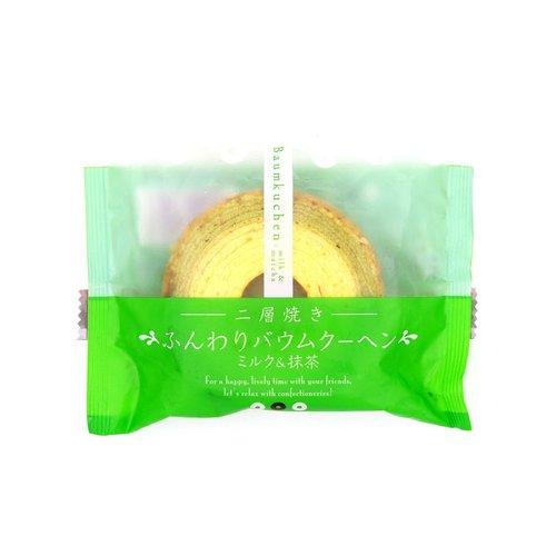 Taiyo Foods Baumkuchen Mini Matcha Cake, 75g