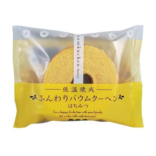 Taiyo Foods Baumkuchen Mini Honey Cake, 75g