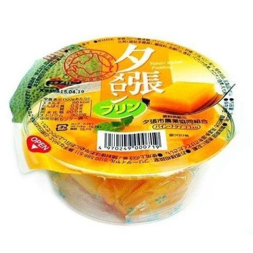 Okazaki Sweet Hokkaido Melon Pudding, 300g