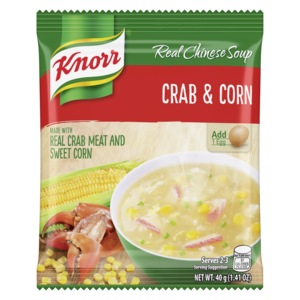 Knorr Crab & Corn Soup, 60g