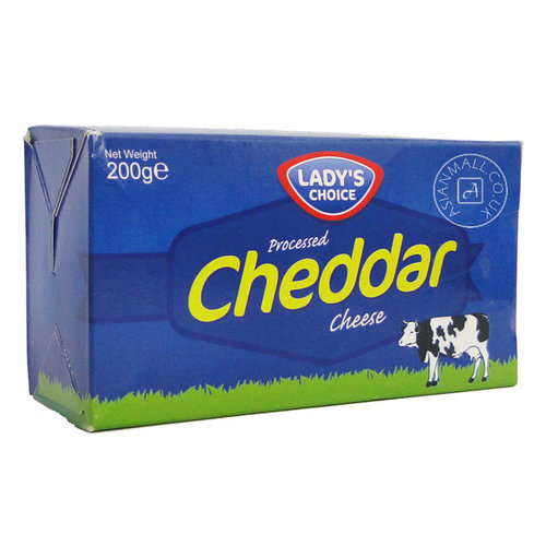 Lady's Choice Cheddar Cheese, 200g