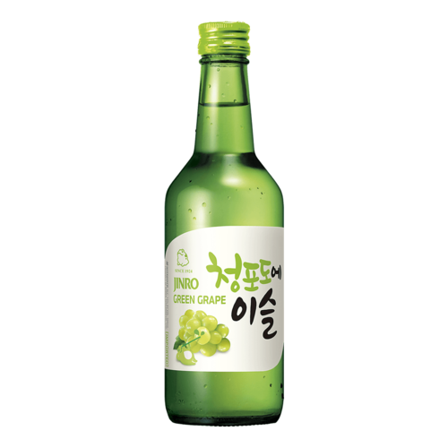 Jinro Soju Green Grape, 360ml