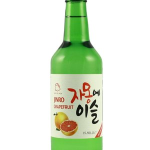 Jinro Soju Grapefruit, 360ml
