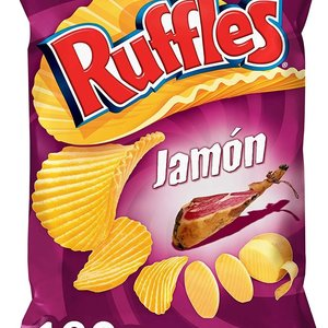 Pepsico Ruffles Sabor Jamon, 160g