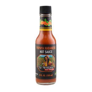 La Meridana Papaya Habanero Hot Sauce, 150ml
