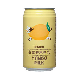 Famous House Taiwan Mango Milk, 340ml