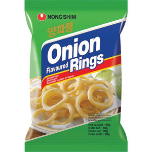 Nongshim Onion Flavored Rings, 90g