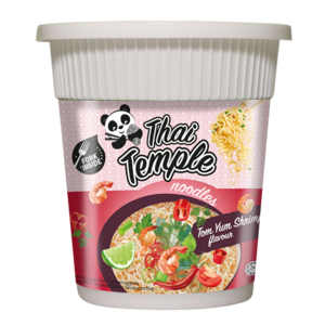 Thai Temple Panda Cup Noodles Tom Yum Shrimp, 60g