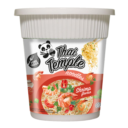 Thai Temple Panda Cup Noodles Shrimp, 60g