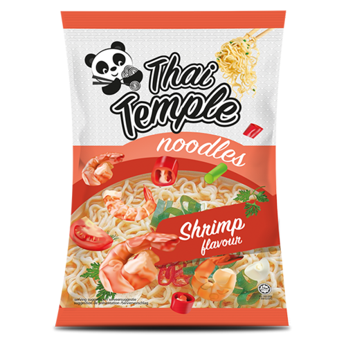 Thai Temple Panda Noodles Shrimp Flavour, 65g