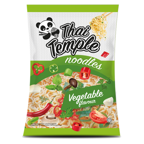 Thai Temple Panda Noodles Vegetable Flavour, 65g