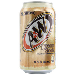 A&W Cream Soda, 355ml