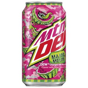 Mountain Dew Major Melon, 355ml