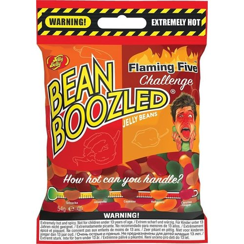Jelly Belly Bean Boozled Flamin Five Challenge, 54g