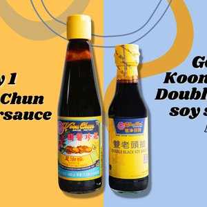 Koon Chun ACTIE Superior Oyster Flavored Sauce + Double Black Soy Sauce