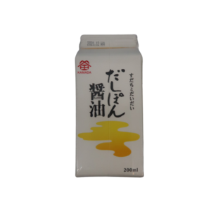 Kamada Dashi Ponzu Soy Sauce, 200ml