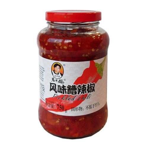 Lao Gan Ma Lao Gan Ma Pickled Chilli, 750g