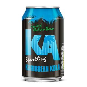 KA KA Karibbean Kola, 330ml