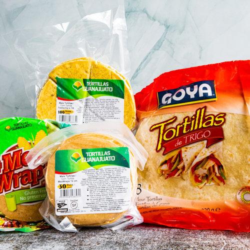 Echte Mexicaanse tortillas