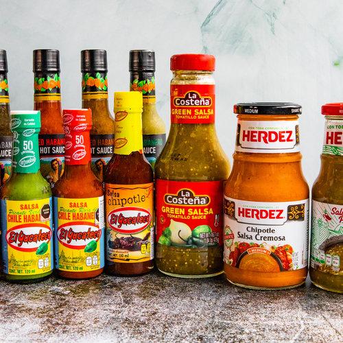 Het grootste assortiment pittige Mexicaanse sauzen!