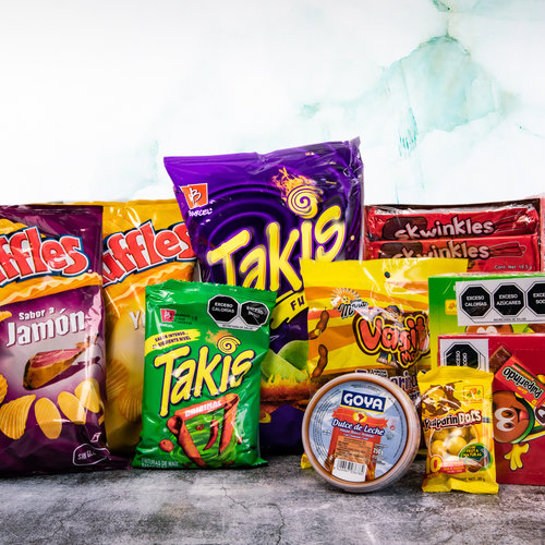 Mexican sweets and snacks.