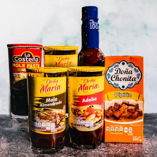 Mexicaanse marinades en kooksauzen