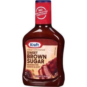 Kraft Sweet Brown Sugar BBQ Sauce, 510g