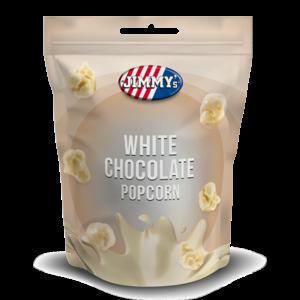 Jimmy's White Chocolate Popcorn, 120g