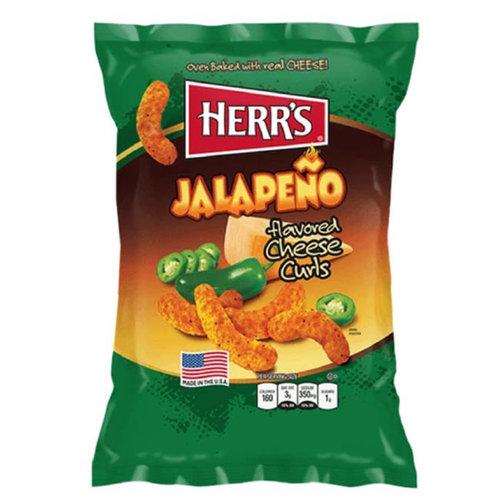 Herr's Jalapeno Cheese Curls, 198g
